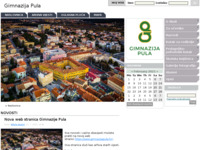 Slika naslovnice sjedišta: Gimnazija Pula (http://www.gimnazija-pula.skole.hr/)