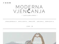 Frontpage screenshot for site: Moderna Vjenčanja – Savjeti za modernu mladenku (http://modernavjencanja.com/)