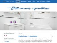 Frontpage screenshot for site: Stellamaris - Brela (http://www.stellamaris-brela.com)