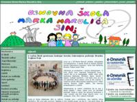 Slika naslovnice sjedišta: Osnovna škola Marka Marulića Sinj (http://os-mmarulica-sinj.skole.hr/)