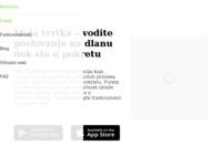 Slika naslovnice sjedišta: Moja Tvrtka - vođenje poslovanja na dlanu u pokretu (http://www.mojatvrtka.hr)