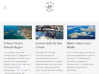 Frontpage screenshot for site: Holiday Charter Tribunj, Rent A Boat, Hrvatska, Kornati, Krka (http://www.holidaycharter.eu)