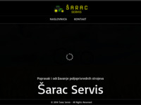 Slika naslovnice sjedišta: Šarac Servis (http://sarac-servis.hr)