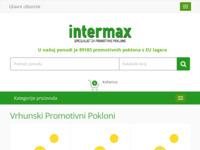 Slika naslovnice sjedišta: Intermax - Specijalist za promotivne proizvode (http://intermax.hr/)
