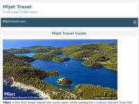 Slika naslovnice sjedišta: Mljet - turistički vodič (http://www.mljettravel.com/)