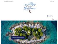 Frontpage screenshot for site: Turistička agencija Sky House (http://sky-house.hr)