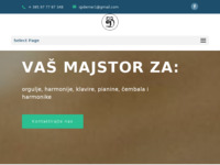 Slika naslovnice sjedišta: Glazbalar Ivica Derner (http://www.glazbalar-iderner.hr)