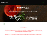 Frontpage screenshot for site: Omnia Osijek (http://omnia-osijek.hr)