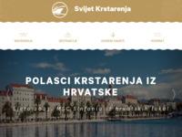 Frontpage screenshot for site: Svijet Krstarenja (http://www.svijet-krstarenja.hr)