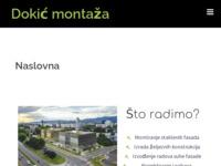 Slika naslovnice sjedišta: Dokić montaža (http://www.dokicmontaza.hr/)