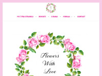 Slika naslovnice sjedišta: Flowers With Love (http://www.flowerswithlove.hr)