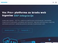 Slika naslovnice sjedišta: Izrada internet trgovina | LIMS sustav | Mathema (http://www.mathema.hr)