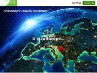 Frontpage screenshot for site: Zeleni dvori - Stambeno poslovni projekt (http://zeleni-dvori.com/)