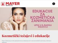 Slika naslovnice sjedišta: Mayer edukacije i tečajevi kozmetike (http://mayer.hr/)