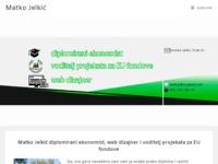 Frontpage screenshot for site: Matko Jelkić, dipl. oec. - voditelj projekata za EU fondove // web dizajner (http://matko-jelkic.from.hr)