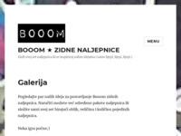 Slika naslovnice sjedišta: Booom - dizajn rješenja - Design, play, wear (http://www.lkomar.mojweb.com.hr)