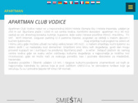 Frontpage screenshot for site: Apartman Club Vodice - Vodice (http://www.apartman-club-vodice.com.hr/)