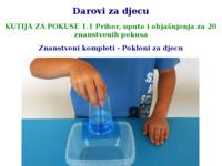 Slika naslovnice sjedišta: Pokloni za djecu - Znanstveni kompleti - Eksperimenti (http://www.sciencebox.eu/hr/darovi-za-djecu.html)