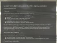 Frontpage screenshot for site: Sudski tumač za njemački jezik (http://www.novine.org/sudski_tumac_njemacki_jezik_zagreb_georg_alexander_richter.htm)