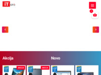 Frontpage screenshot for site: Rabljena računala - Prodaja i najam računalne opreme - ITCro (http://www.xn--rabljena-raunala-27b.hr/)