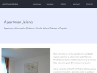 Frontpage screenshot for site: Apartman u Zagrebu (http://zagreb-apartment.info)