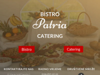 Frontpage screenshot for site: U slast - catering Patria (http://www.u-slast-catering-patria.hr)