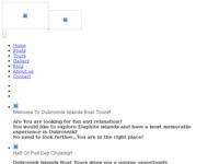Frontpage screenshot for site: Dubrovnik Islands Boat Tours - Najam brodova u Dubrovniku (http://dubrovnikislandsboattours.com)