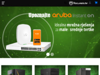 Frontpage screenshot for site: Bits And Bytes (http://bitsandbytes.hr/)