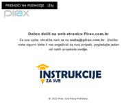Slika naslovnice sjedišta: Pirax – Where WordPress magic happens (http://pirax.com.hr/)
