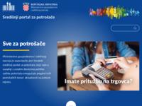 Slika naslovnice sjedišta: Središnji portal za potrošače (http://www.szp.hr)