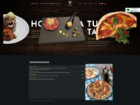 Frontpage screenshot for site: (http://pizzanicos.com/pizzeria-dubrovnik/)