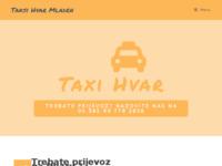 Slika naslovnice sjedišta: Taksi Hvar Mladen (http://www.taxi-hvar-mladen.hr)