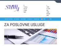 Slika naslovnice sjedišta: Poslovne usluge - Suma d.o.o. (http://www.suma.com.hr)
