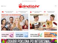 Frontpage screenshot for site: zinello.hr - neobični pokloni, kućni dekor & gadgeti (http://www.zinello.hr)