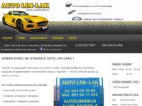 Slika naslovnice sjedišta: Auto lim-lak (http://www.autolimlak.hr)