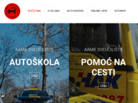 Slika naslovnice sjedišta: Autoškola AAMK Sveučilište Zagreb (http://www.autoskola-sveuciliste.hr)