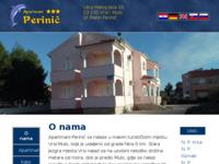 Slika naslovnice sjedišta: Apartmani Perinić - Vrsi - Mulo (http://www.apartmani-perinic.com.hr)