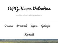 Slika naslovnice sjedišta: OPG Kunac - Sinj (http://www.opg-kunac.hr)