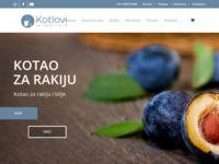 Slika naslovnice sjedišta: Kotao za rakiju - Kotao za Bilje - Kazan za rakiju (https://kotaozarakiju.com)