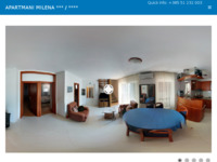 Frontpage screenshot for site: Apartments Milena Toić - Mali Lošinj (http://www.apartmanimilena.hr/)