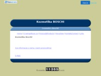 Frontpage screenshot for site: Kozmetika Boschi (http://www.KozmetikaBoschi.8k.com)