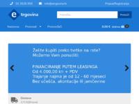Slika naslovnice sjedišta: etrgovina.hr - Povoljne cijene alata ... (https://etrgovina.hr/)