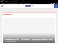 Slika naslovnice sjedišta: Izrada web stranica - izrada web trgovina - NetBIT - Internet solutions (https://netbit.hr)