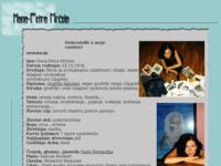Frontpage screenshot for site: Osobne stranice-Hana-Petra Mrčela (http://free-zg.htnet.hr/Angel)