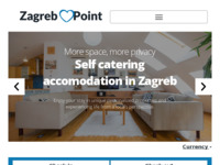 Frontpage screenshot for site: Zagreb Point Apartments (http://zagrebpoint.net)