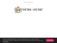 Frontpage screenshot for site: Martinik web shop (https://martinik.hr/)