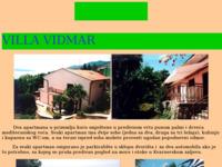 Frontpage screenshot for site: Apartmani u Ičićima kraj Opatije (http://free-zg.htnet.hr/LeonardoKerin/villa%20vidmar.htm)