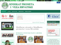 Slika naslovnice sjedišta: Sindikat prometa i veza Hrvatske (https://sindikat-pvh-zagreb.hr/)