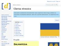 Slika naslovnice sjedišta: Dalmatinski internetski libar (http://dalmapedia.org)