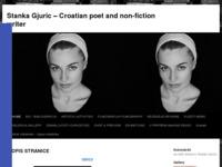 Frontpage screenshot for site: Stanka Gjuric - spisateljica, pjesnikinja i filmašica (http://www.stankagjuric.from.hr)